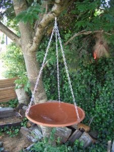 Terracotta bird bath Australia