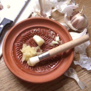 Garlic Grater & Brush