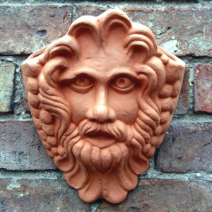 Bacchus Wall Pot