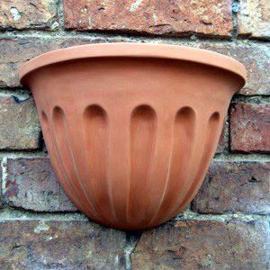 Cherub Wall Pot