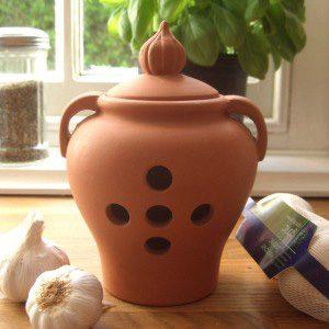 Garlic Pot – Large 3 bulb