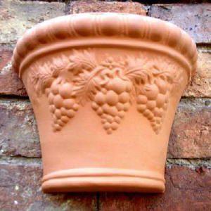 Grape Wall Pot