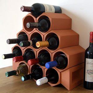 Keystone 13-Bottle Wine Rack Section