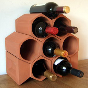 Keystone 8-Bottle Wine Rack Section