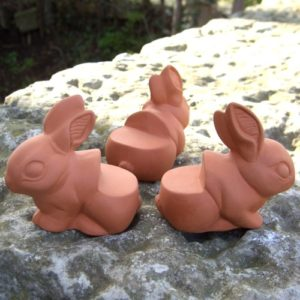 Rabbit Pot Feet (set of 3)