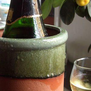 Round Wine Cooler AppleGlaze
