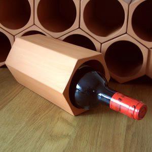 Terracotta Hexagonal Wine Cooler
