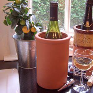 Terracotta Round Wine Cooler