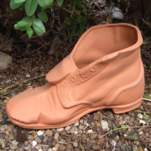 Tramp Boot Planter